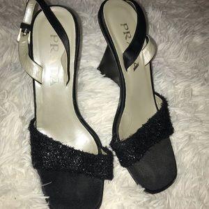 Vintage black Prada heels